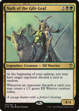 Nath of the Gilt-Leaf [Commander 2016] | Boutique FDB TCG