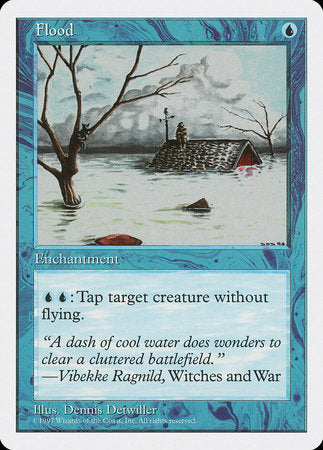 Flood [Fifth Edition] | Boutique FDB TCG