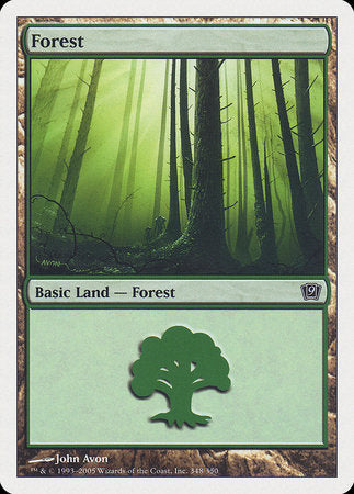 Forest (348) [Ninth Edition] | Boutique FDB TCG