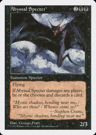 Abyssal Specter [Fifth Edition] | Boutique FDB TCG