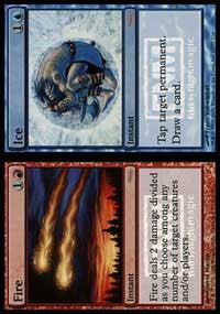 Fire // Ice [Friday Night Magic 2006] | Boutique FDB TCG