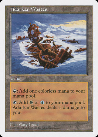 Adarkar Wastes [Fifth Edition] | Boutique FDB TCG