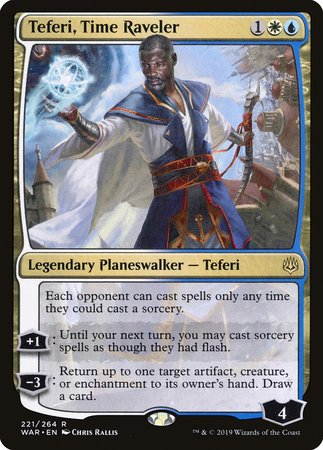 Teferi, Time Raveler [War of the Spark] | Boutique FDB TCG