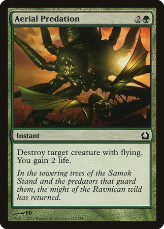 Aerial Predation [Return to Ravnica] | Boutique FDB TCG