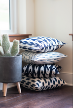 Load image into Gallery viewer, Mini Flecha Pillow | Chambray - el Mercado life