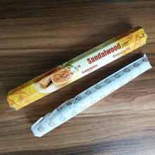 Load image into Gallery viewer, One Small Box Indian White Sage Stick Incense Sandwood Handmade Sticks India Pure Natural Aromatherapy Temple Incense Tibetan