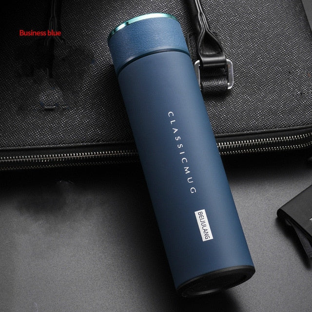500ML Stainless Steel Thermos Vacuum Bottle with Temp Display