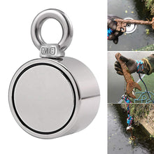 Load image into Gallery viewer, Double-Sided Magnetic Ring Fishing Magnets