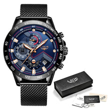 Load image into Gallery viewer, Mens Luxury Wrist Watch - Waterproof Sport Chronograph