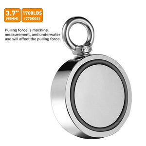 Double-Sided Magnetic Ring Fishing Magnets