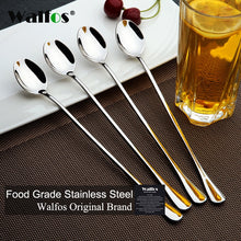 Load image into Gallery viewer, Long Handled Stainless Steel Coffee Spoon