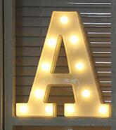 Load image into Gallery viewer, Luminous Letter Night Led Light