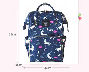 Fashion print Diaperbag Cooler Backpack for Travel