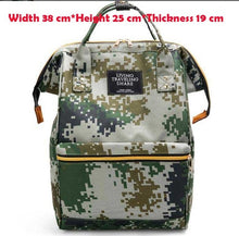 Load image into Gallery viewer, Fashion print Diaperbag Cooler Backpack for Travel