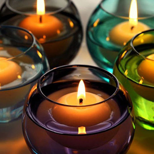 10pcs Unscented Small Floating Candles
