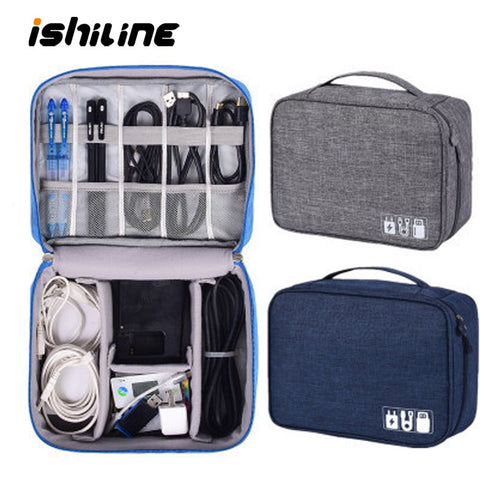 Waterproof Travel Cable USB Accessories Cases