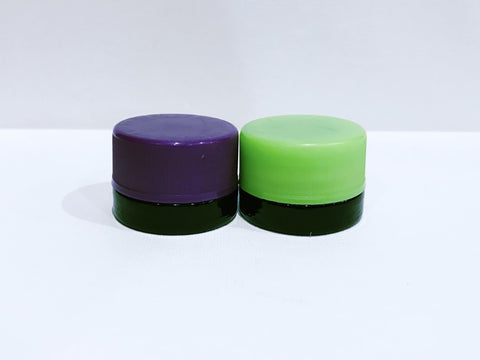 5ml UV glass containers (black glass)