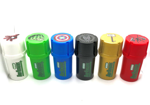 Budvengers Medtainer full 6 piece set