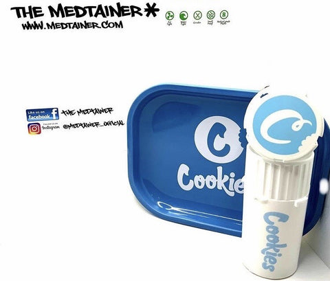 Cookies Rolling Tray and Medtainer XL