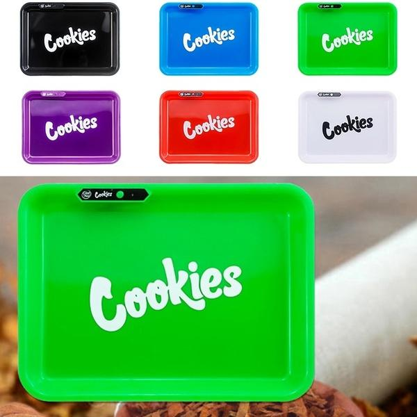 Cookies LED GLOW TRAY With matching Cookies XL Medtainer (40 DRAM)
