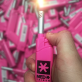 Medtainer Long Neck Lighter (Pink)