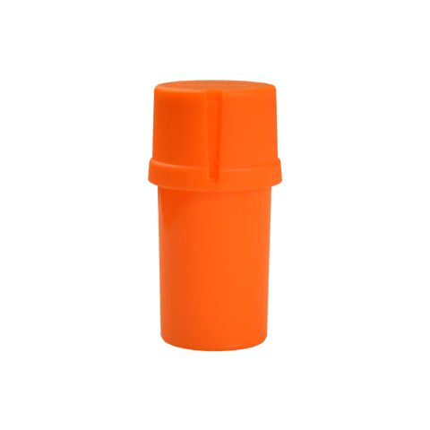 Solid Orange- 20 Dram Medtainer
