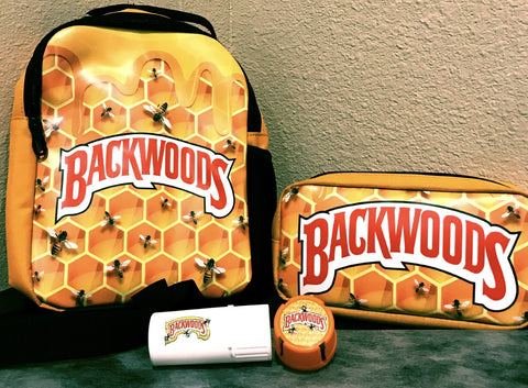 Backwoods Shoulder Backpack with Backwoods Pouch and Free Backwoods Medtainer