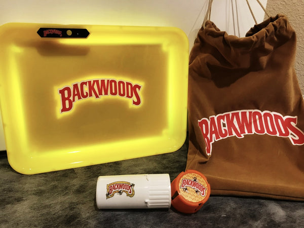 Backwoods Glow Tray With Backwoods Medtainer (20 Dram)
