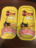 Backwoods Bart Simpson mini rolling tray with magnetic lid