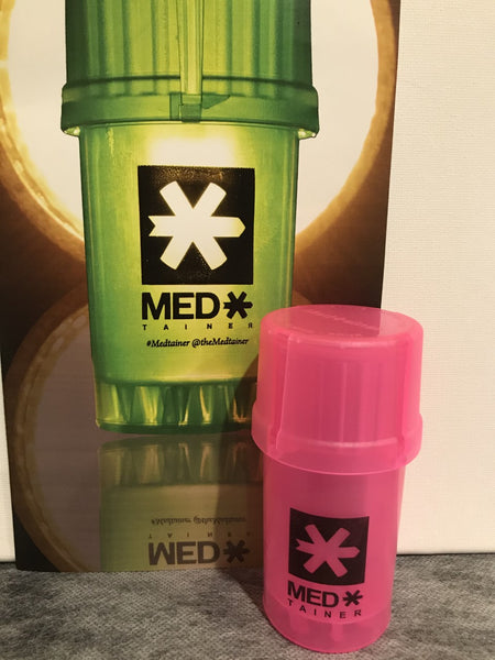 Clear Pink Core Medtainer