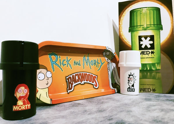 Rick and Morty set