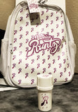 White Runtz Full Size Backpack with free White Runtz Medtainer