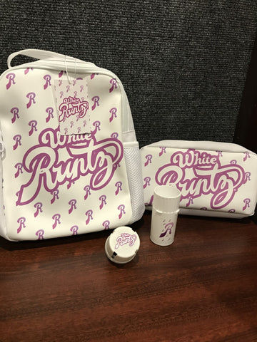 1 White Runtz Shoulder Bag and Pouch with FREE Medtainer