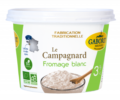 FROMAGE BLANC CAMPAGNARD 3%MG 500G
