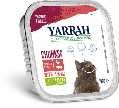 BARQ. BOEUF POUR CHATS 100G