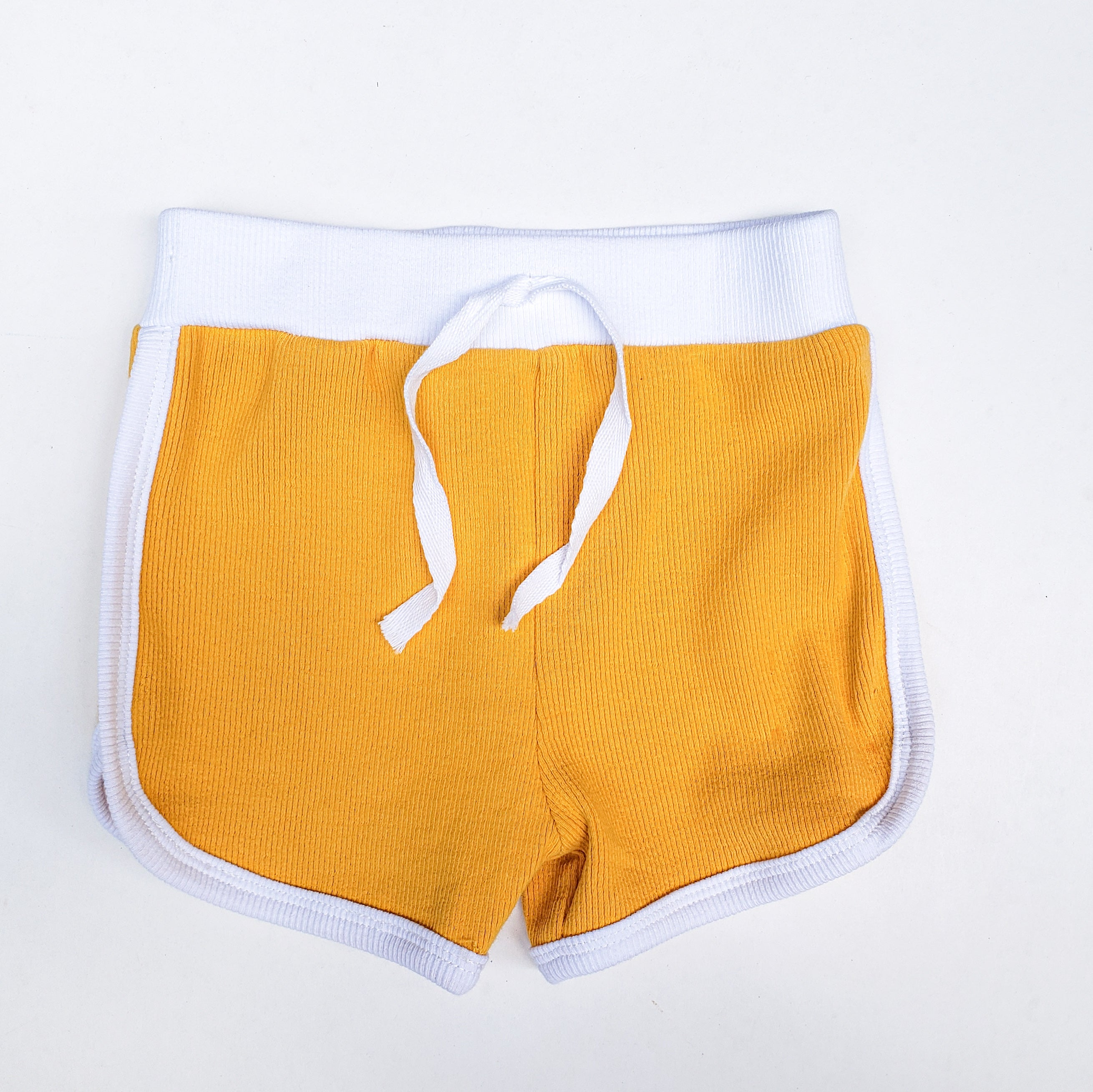 RETRO SHORTS | MARIGOLD only