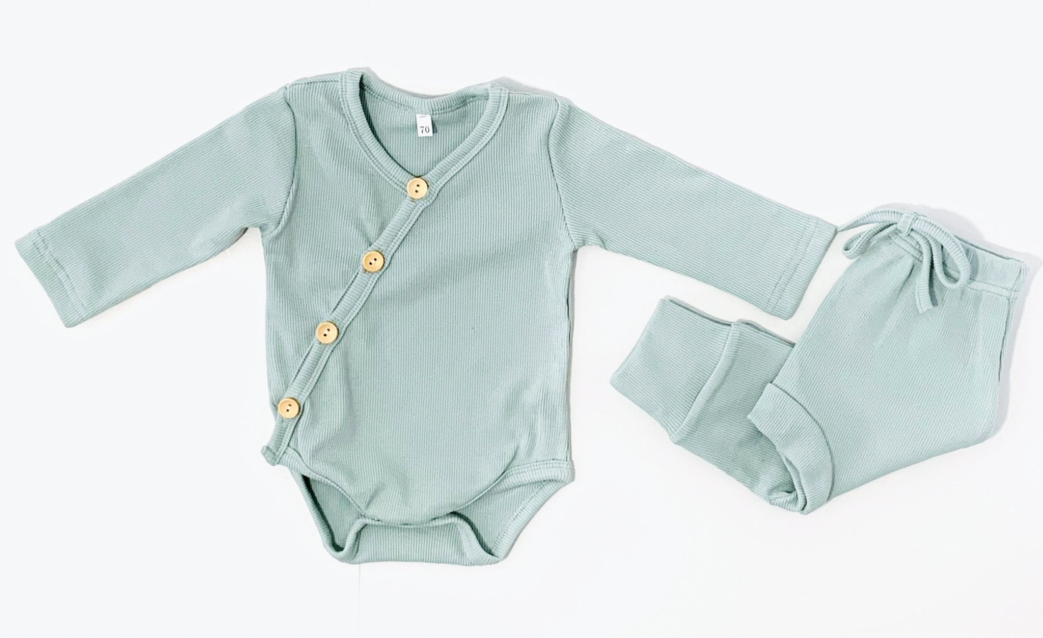 RIBBED LOUNGE SET | Mint | SOLD OUT