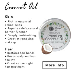 Premium Raw & Cold Pressed Coconut Oil