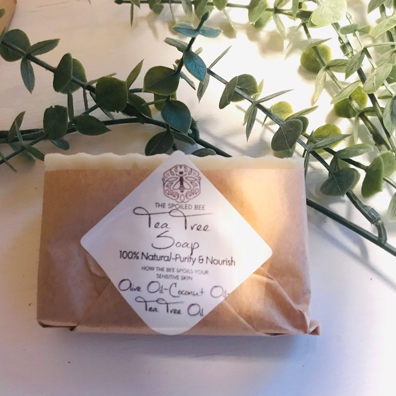 Purifying Tea Tree Nourishing Bar Soap