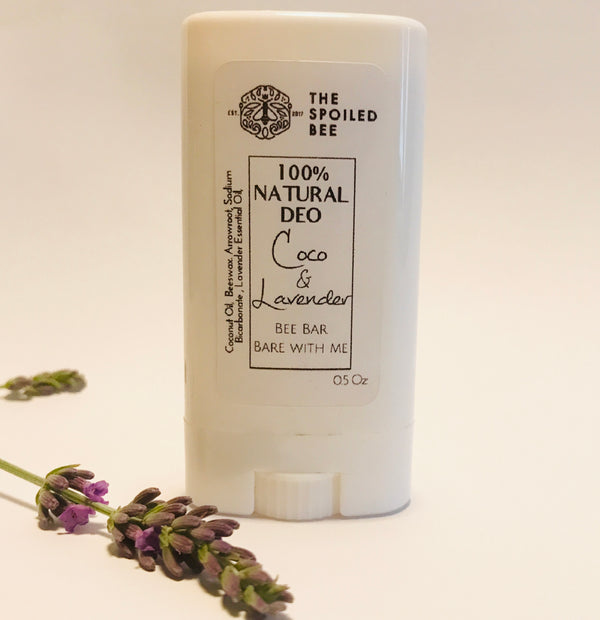 Deodorant Bee Spoiled By Coco & Lavender 100% Natural