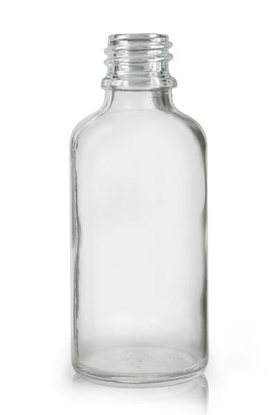 50ml Clear Glass Bottle