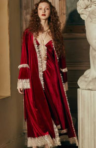 Ruby Red Margaret Lawton Glamorous Nightgown - GOING FAST -