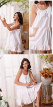 Short Cotton Nightgown
