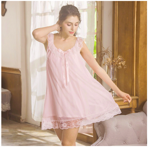 Margaret Lawton Short Nightie - Available for Fast Shipping -