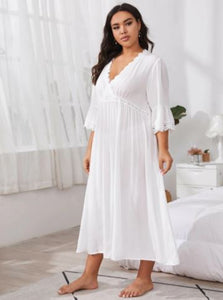 Bold & Beautiful Plus Size Summer Nightgown  XL to 4XL - Fast Shipping Available