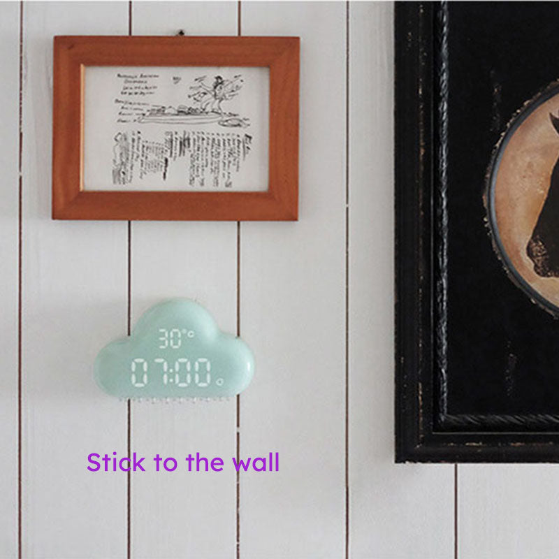 Smart cloud clock - jackcattegoods
