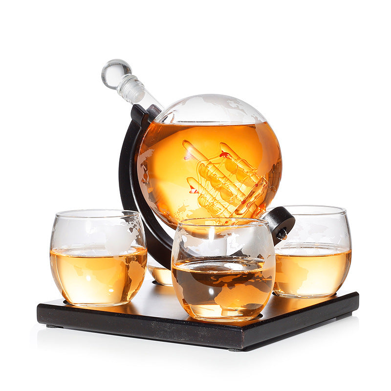 Whiskey Glass Decanter - jackcattegoods
