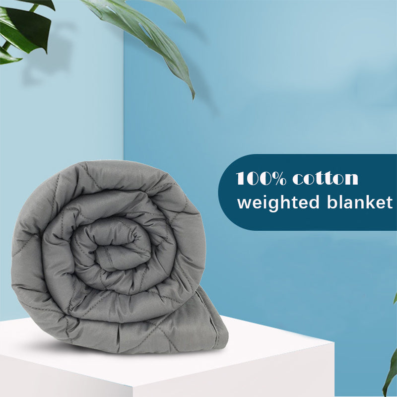 Weighted Cotton Blanket