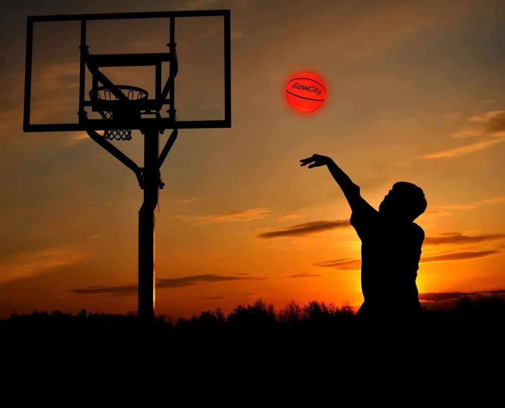 Light-up basketball - jackcattegoods