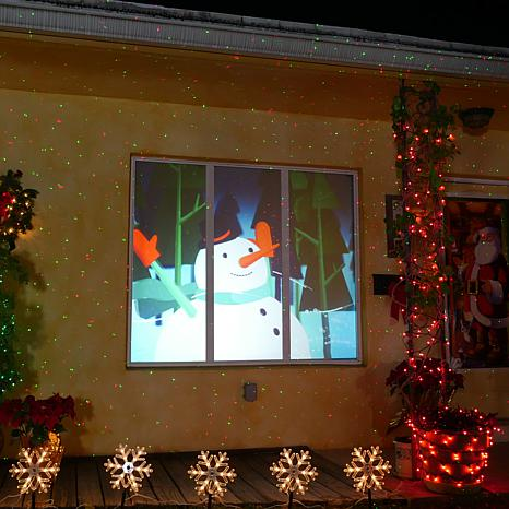 Christmas Window Projector